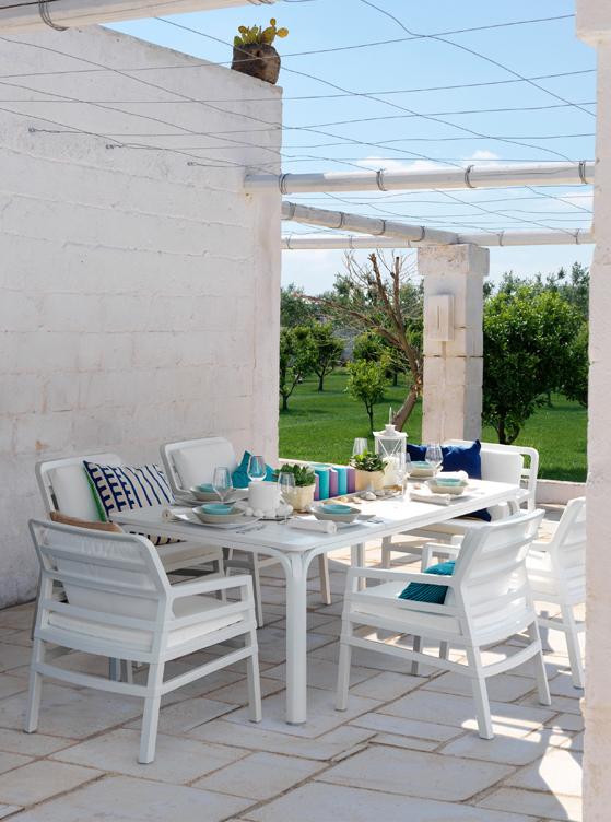 Stół do ogrodu nowoczesny Alloro 140 Nardi
