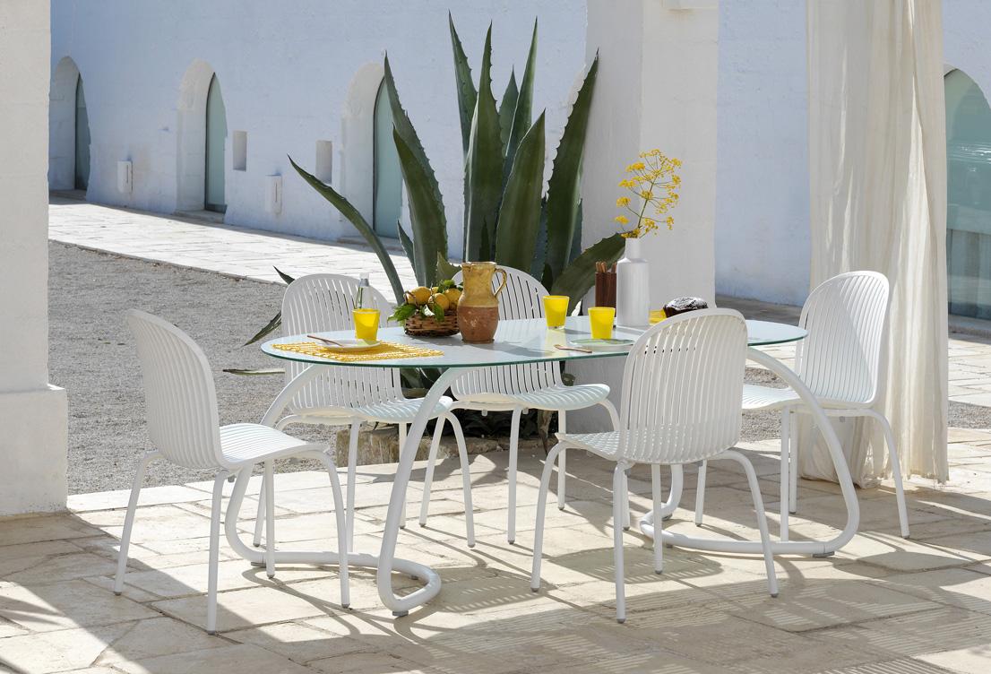 Ekskluzywny stół ogrodowy Loto 190 Nardi