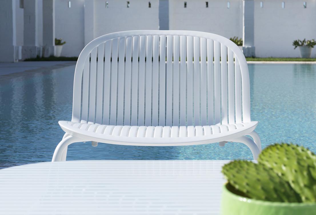 Fotel Ninfea Relax Nardi bianco