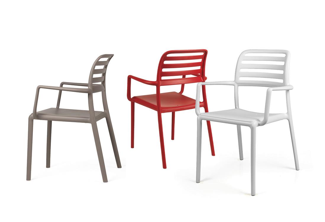 krzesła Costa Nardi z podłokietnikiem