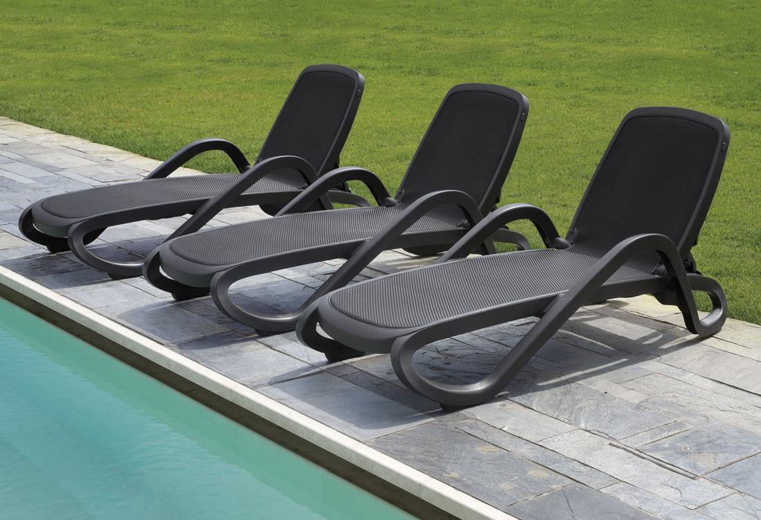 leżaki basenowe Alfa Nardi