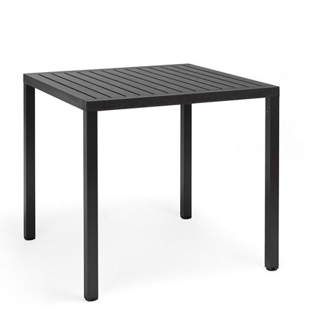 Stół do kawiarni Cube Nardi antracytowy