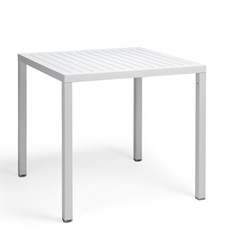 Stół ogrodowy Cube Nardi Biały