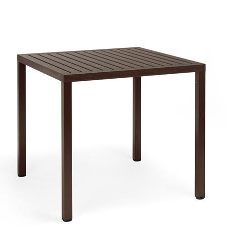 Stół ogrodowy Cube Nardi brązowy