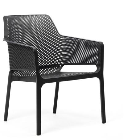 Krzesło Net Relax Nardi antracytowe
