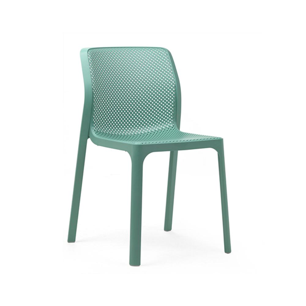 Turkusowe krzesło ogrodowe BIT Nardi