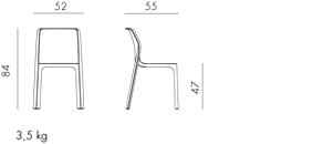 wymiary krzesła bit nardi