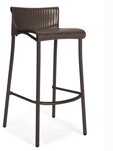 krzesło barowe Duca Nardi do ogródka restauracji