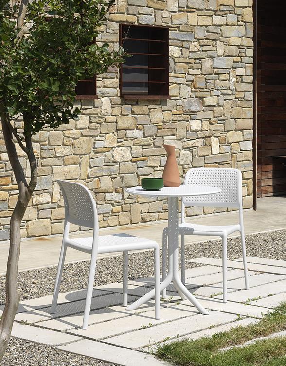 Krzesło Bora z podłokietnikiem Nardi