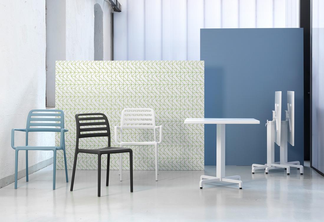 krzesła Nardi do kawiarni i restauracji