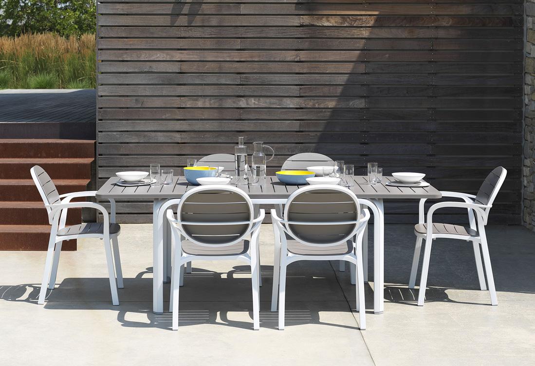 Krzesło nowoczesne do ogrodu Palma Nardi