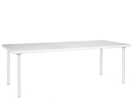 Biały stół do ogrodu maestrale 220 nardi