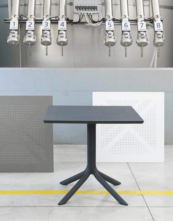 Stół CLIP antracytowy NARDI