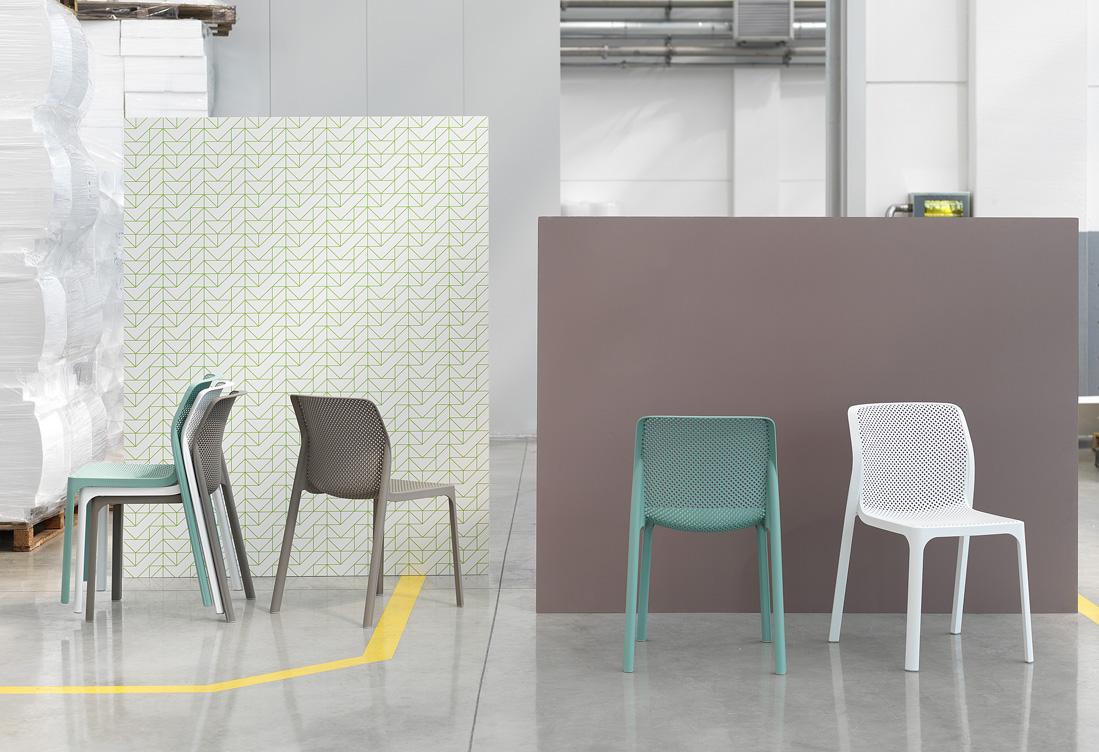 Nowoczesne krzesła do kawiarni BIT Nardi