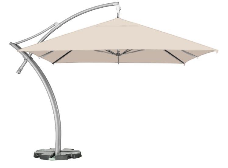 parasol ogrodowy boczny litex