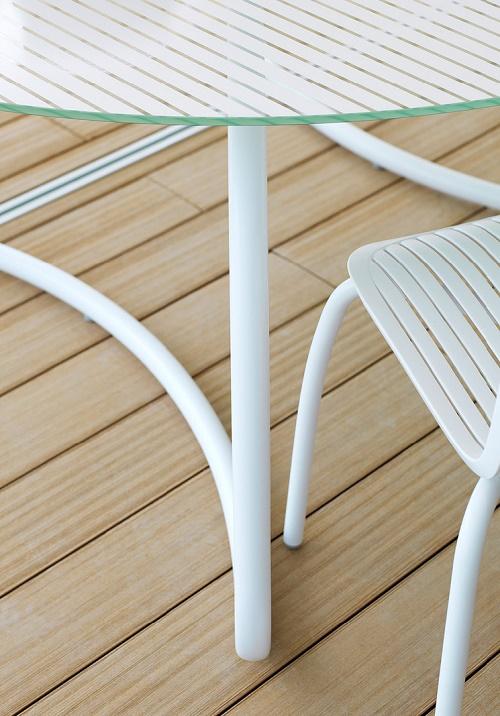 Stół ogrodowy szklany Loto 170 Nardi