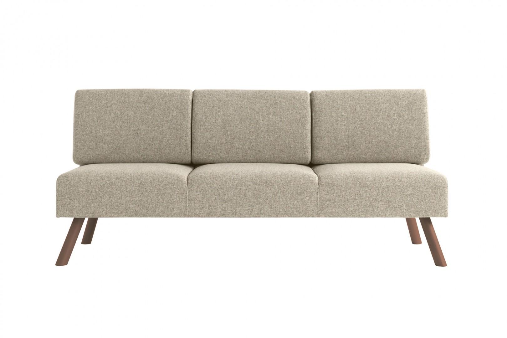 Sofa do restauracji tapicerowana Nomad Metalmobil
