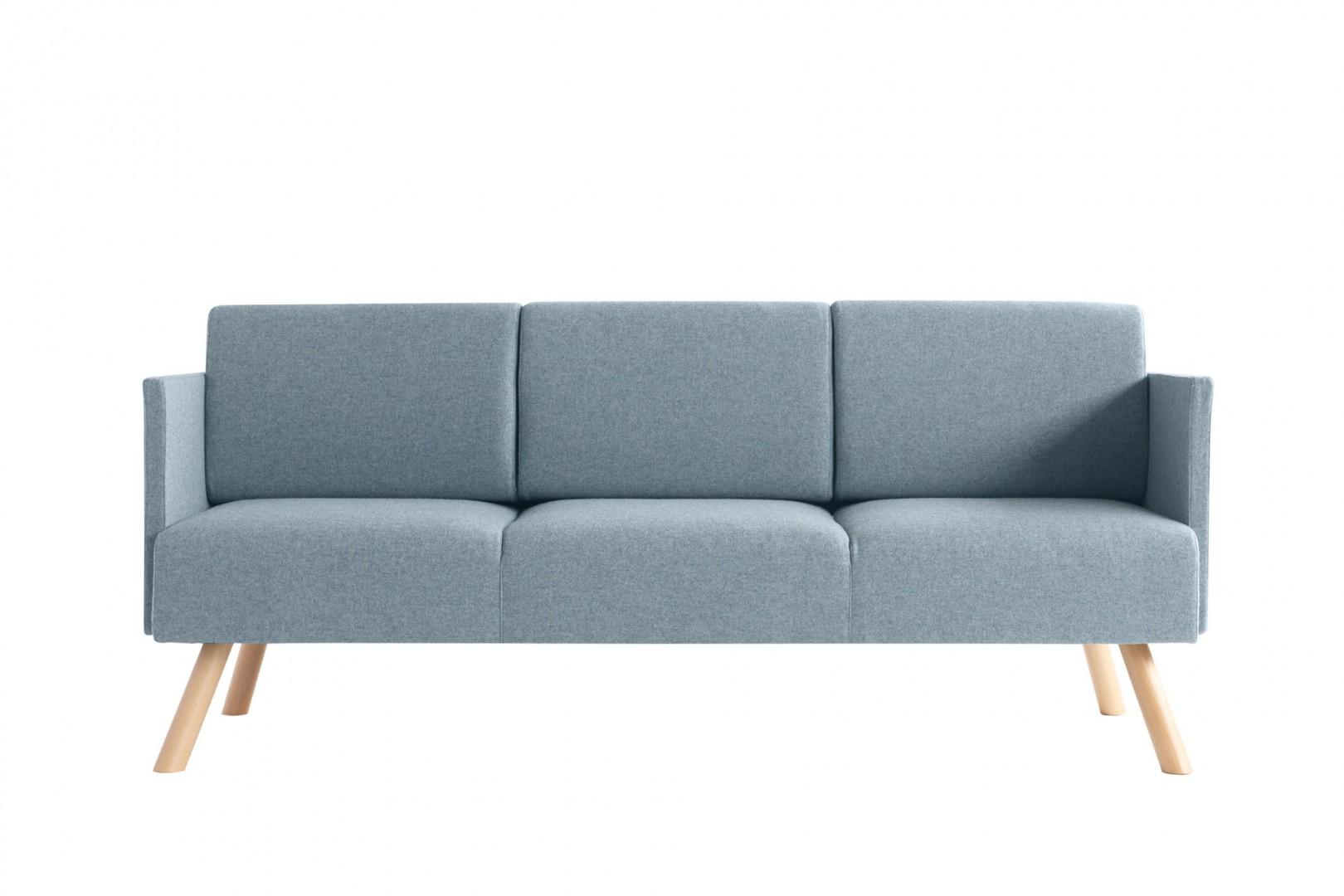 Sofa do miejsc publicznych Nomad Metalmobil - poczekalnie, biura