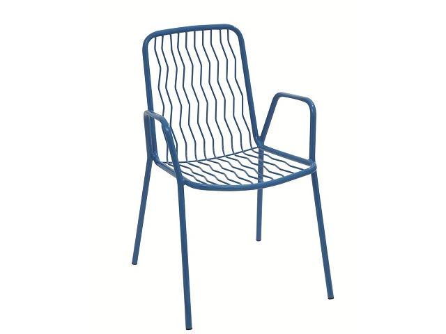 Krzesło metalowe restauracyjne ONDA RD Italia
