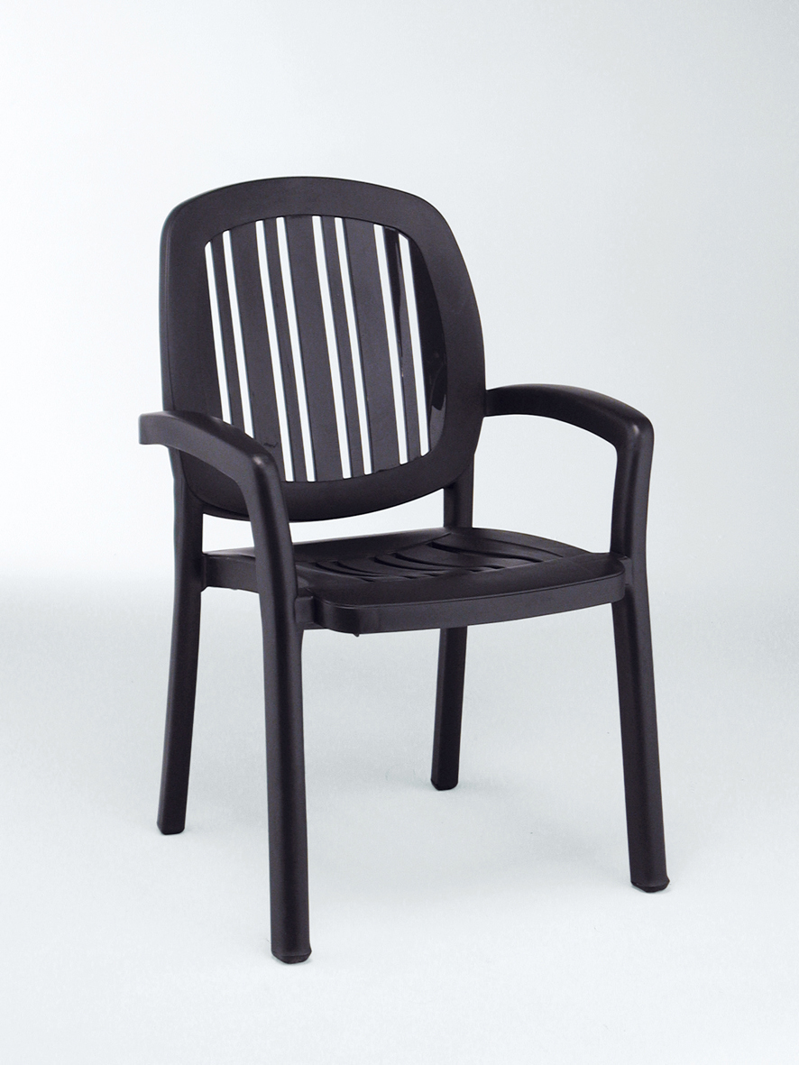 krzesło ogrodowe ponza nardi antracytowe