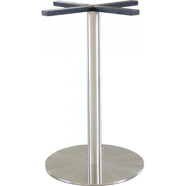 podstawa do stołu INOX okrągła DOMI-IN19