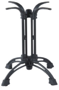 podstawa stołu żeliwna czworonożna ZEL 01