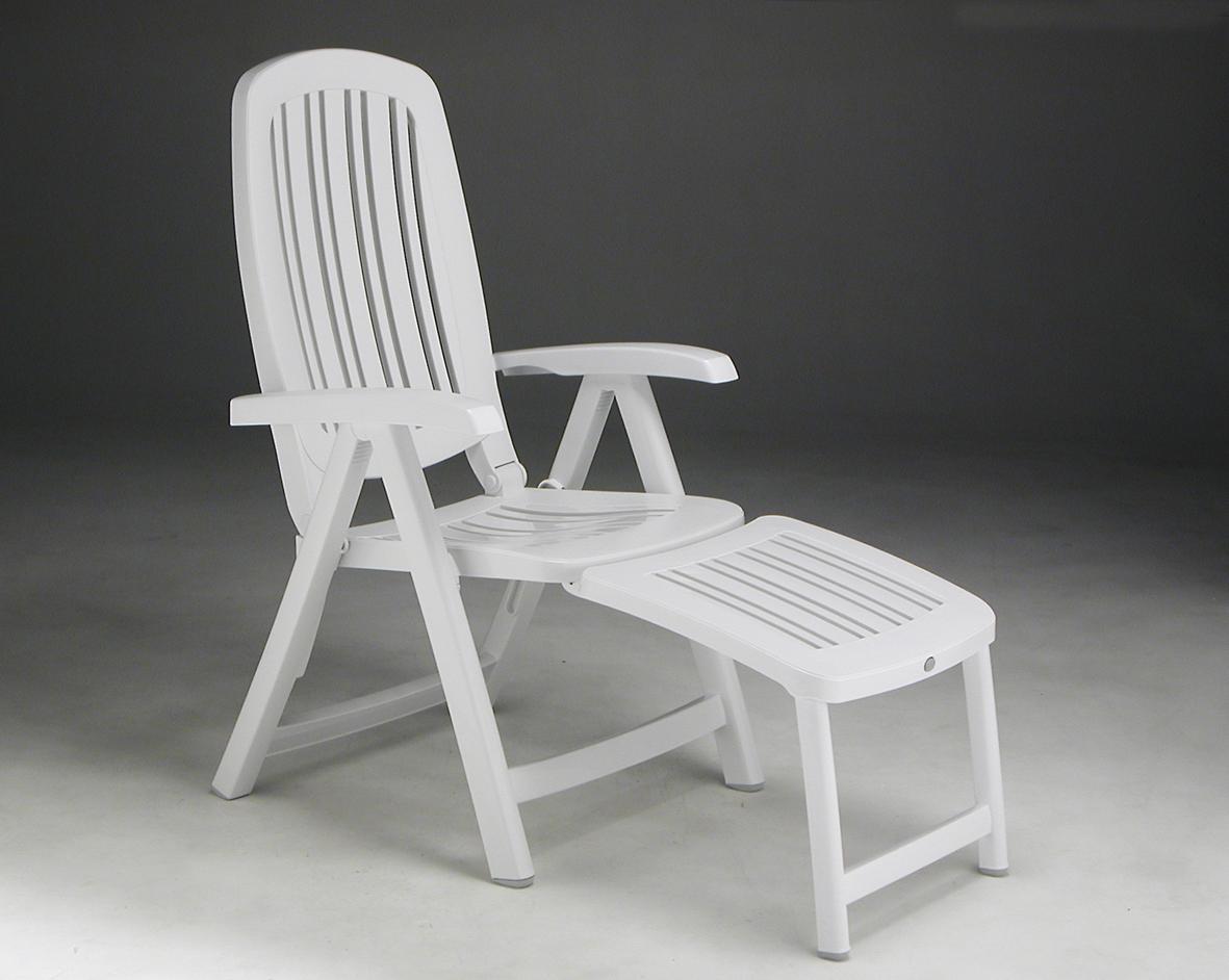 fotel ogrodowy z podnóżkiem Salina Nardi