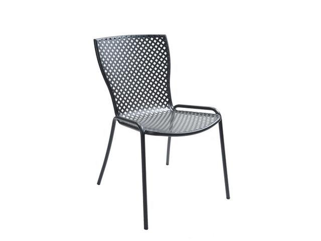 Metalowe krzesło ażurowe SONIA do ogródków RD Italia
