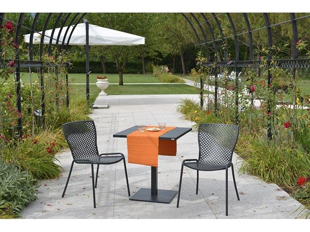 Eleganckie włoskie krzesło ogrodowe SONIA