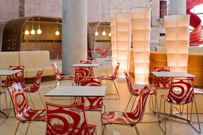 krzesło do restauracji Wave Scab Design