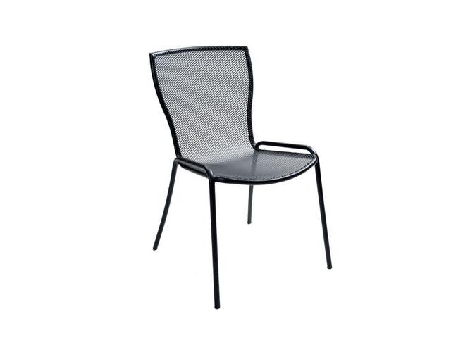 Krzesło do restauracji SYRENE ażurowe metalowe ogrdowe