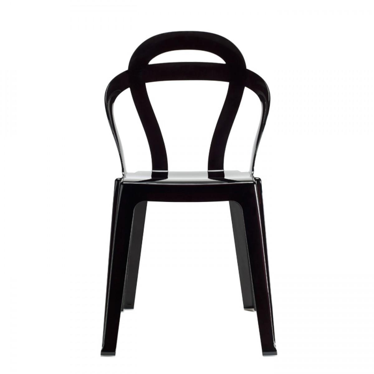 TiTi scab Design czarne krzesło nowoczesne