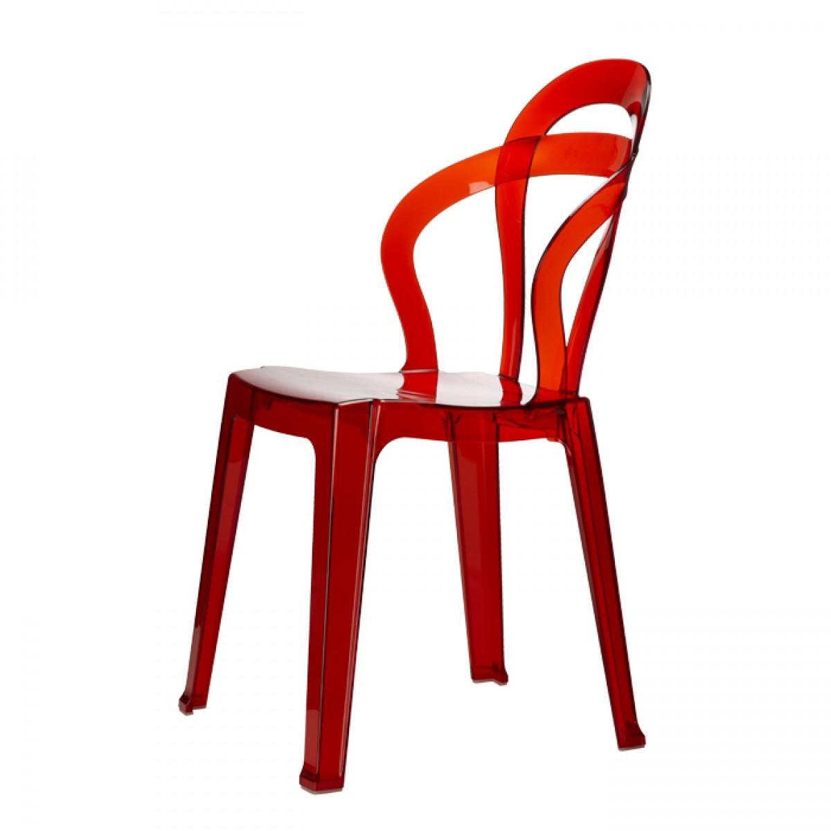 krzesło titi scab design czerowne