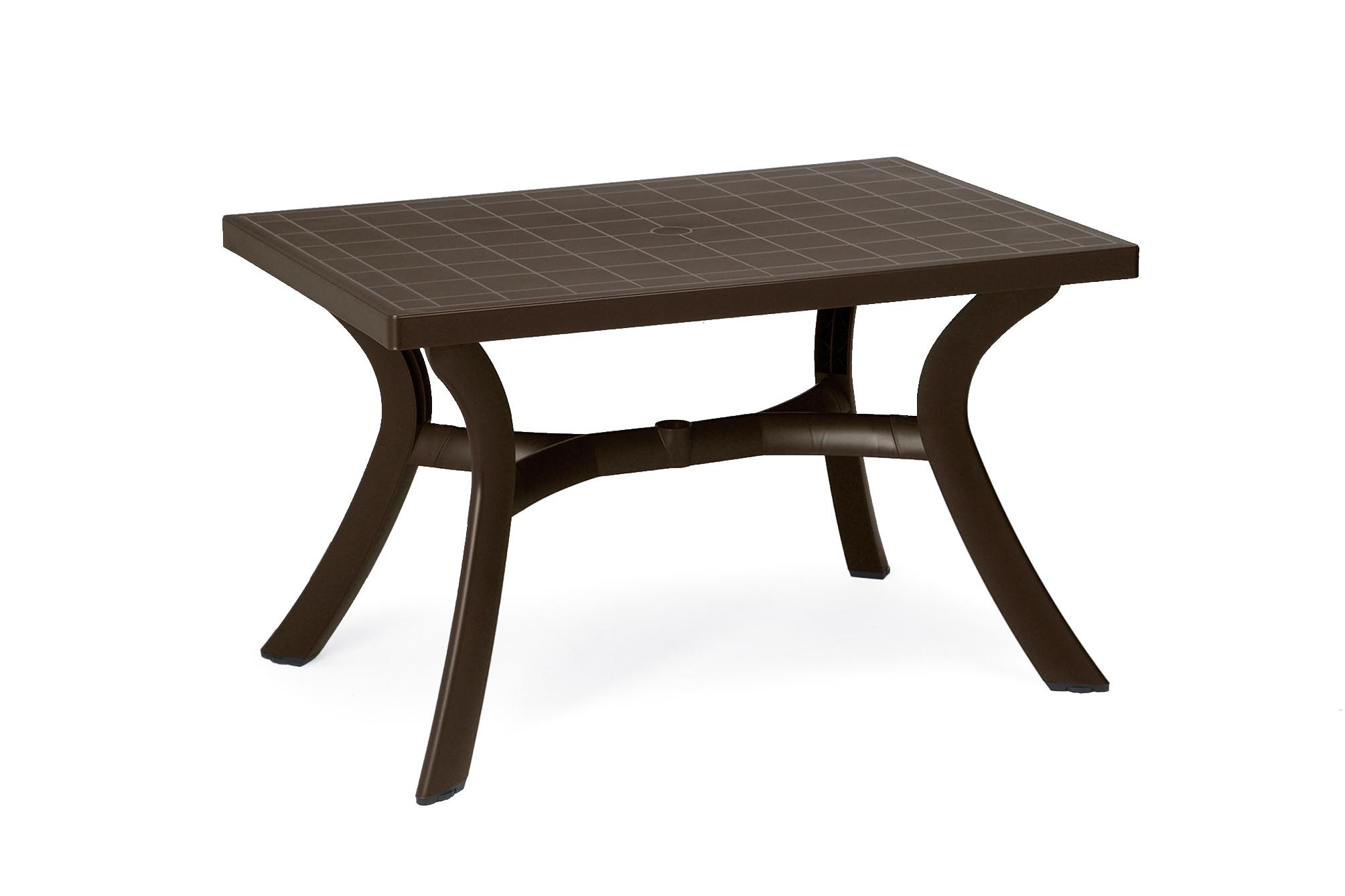 Stół ogrodowy Toscana Nardi brązowy