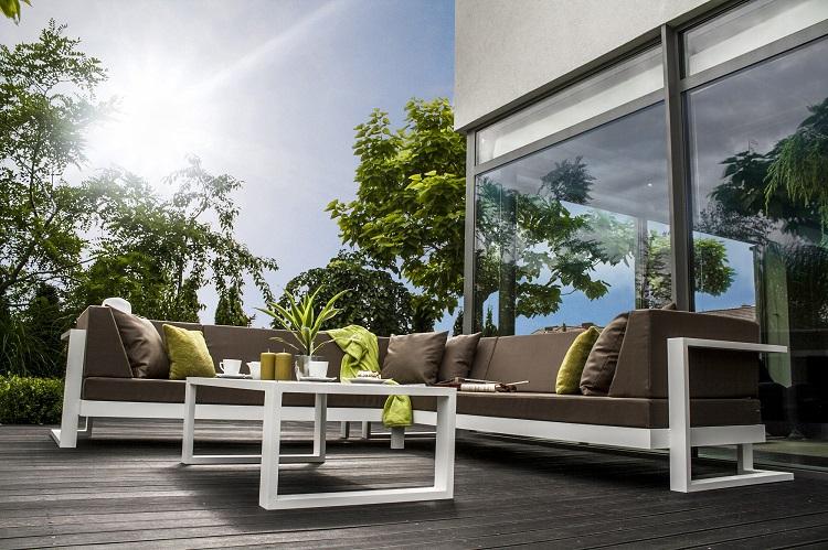 meble zewnętrzne ogrodowe do restauracji