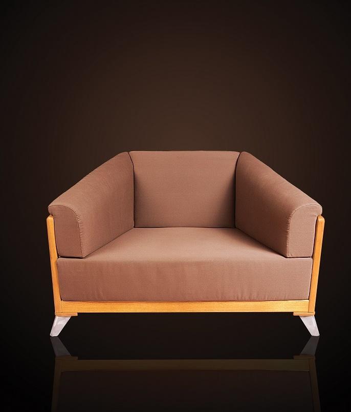 Fotel ogrodowy na taras z poduszkami VERONA