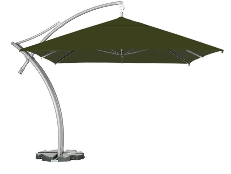 boczny parasol ogrodowy litex ibiza