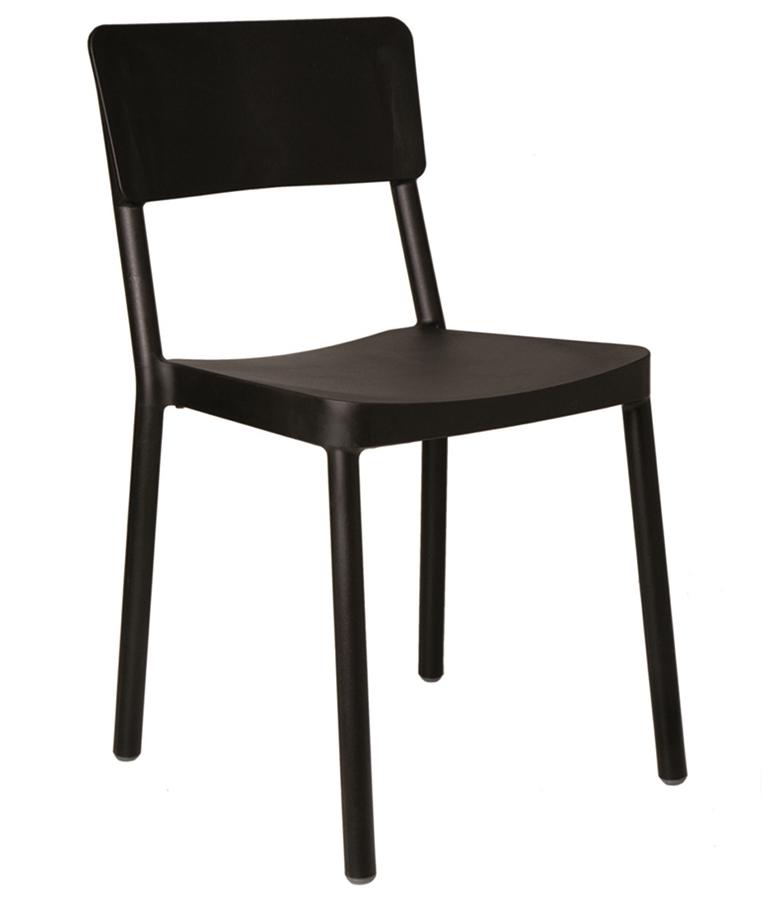 Krzesło Lisboa Czarne Do Kawiarni Resol